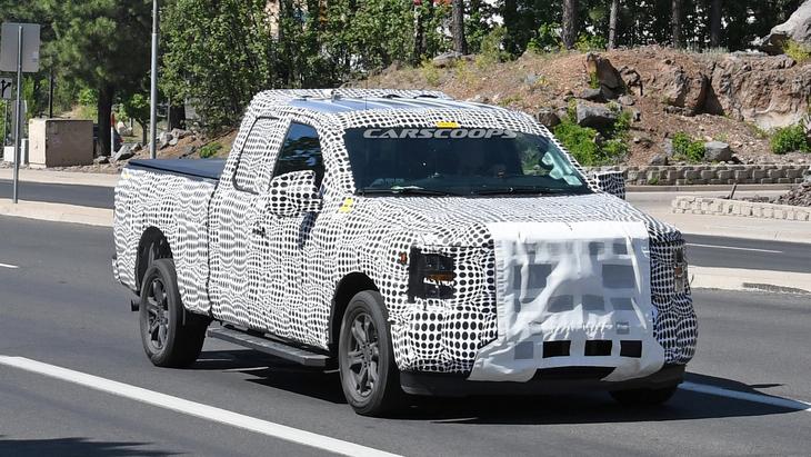 Новый Ford F-150 засекли на тестах 1