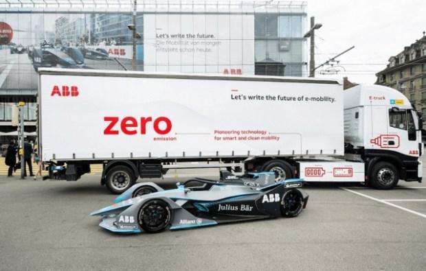 Компания ABB представила свой собственный электрогрузовик с запасом хода 500 км 1
