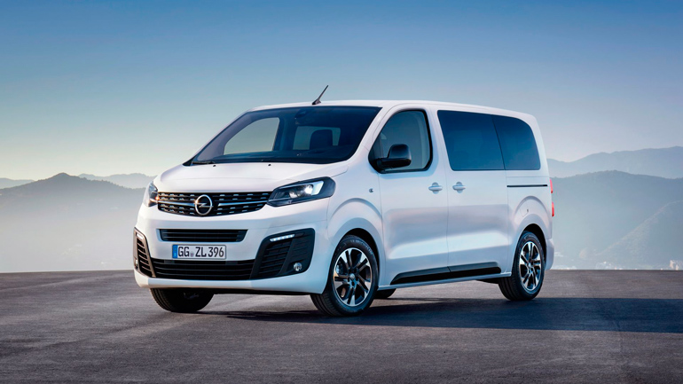 Opel показал новое поколение Zafira Life 1