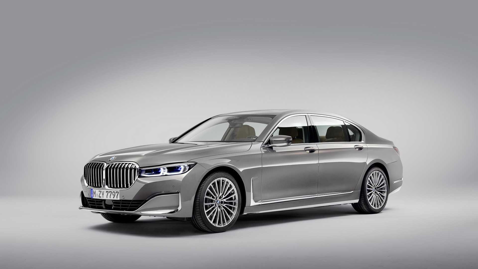 Покупателям понравилась гигантская решётка радиатора BMW 7 Series 1