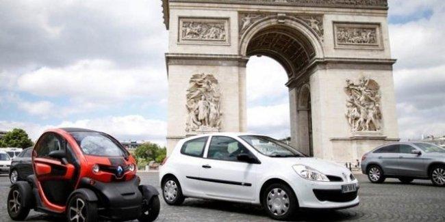 Париж уже с 1 июля вводит запрет на въезд старым дизельным автомобилям 1