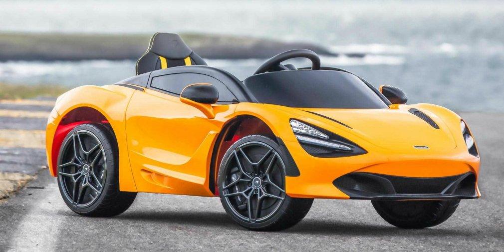 McLaren выпустил «детский» суперкар 1