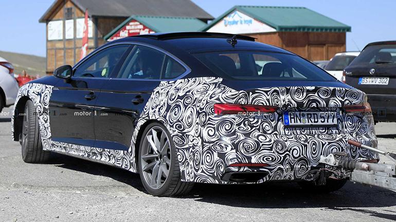 Audi тестирует новую версию A5 Sportback 2