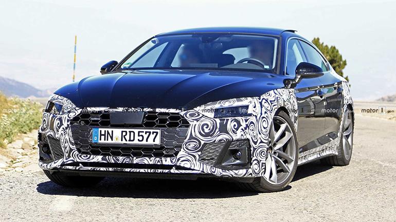 Audi тестирует новую версию A5 Sportback 1