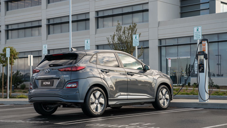 К 2021 году компания Hyundai выпустит новый электрический кроссовер 1