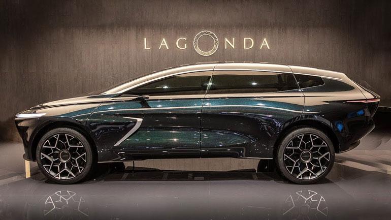 Aston Martin выпустит замену Rapide в кузове кроссовера 1