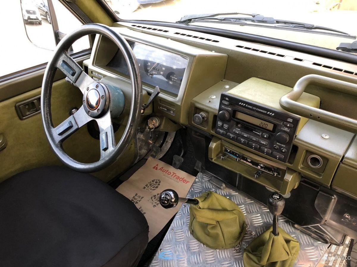 ГАЗ-69 скрестили с Nissan Patrol 2