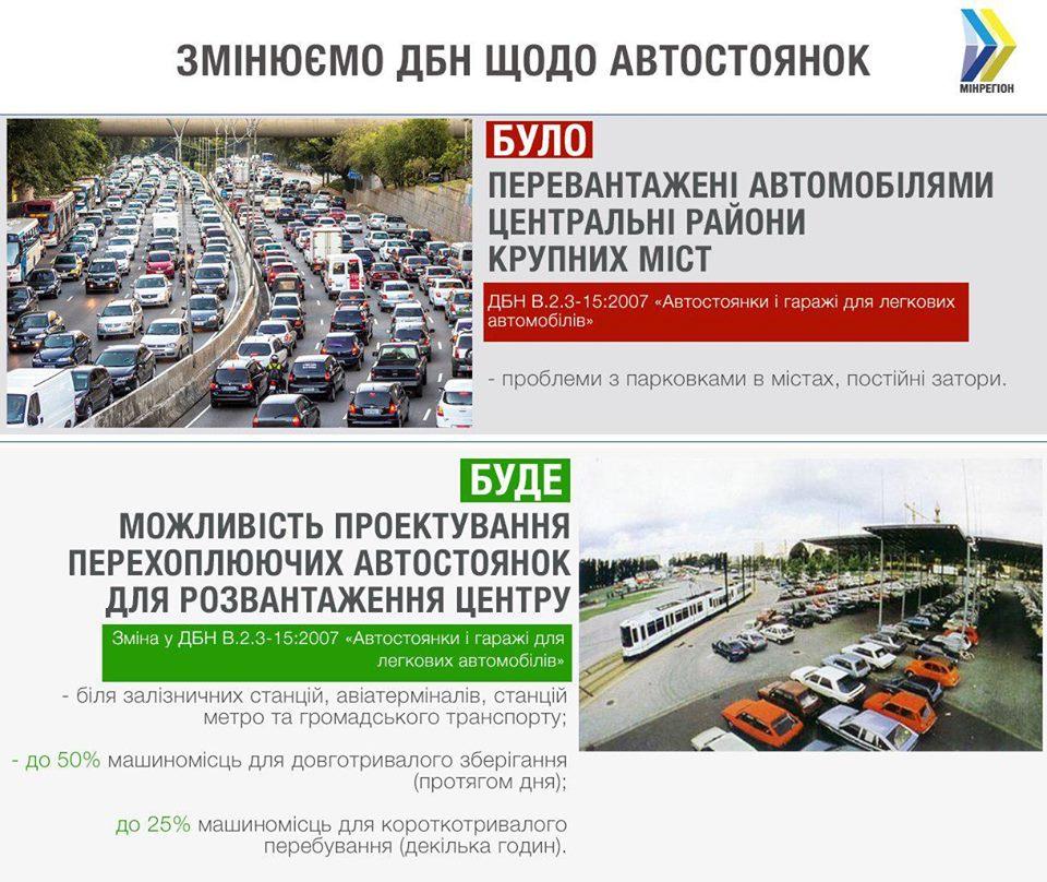 В ГСН появилась норма о перехватывающих автостоянках 1