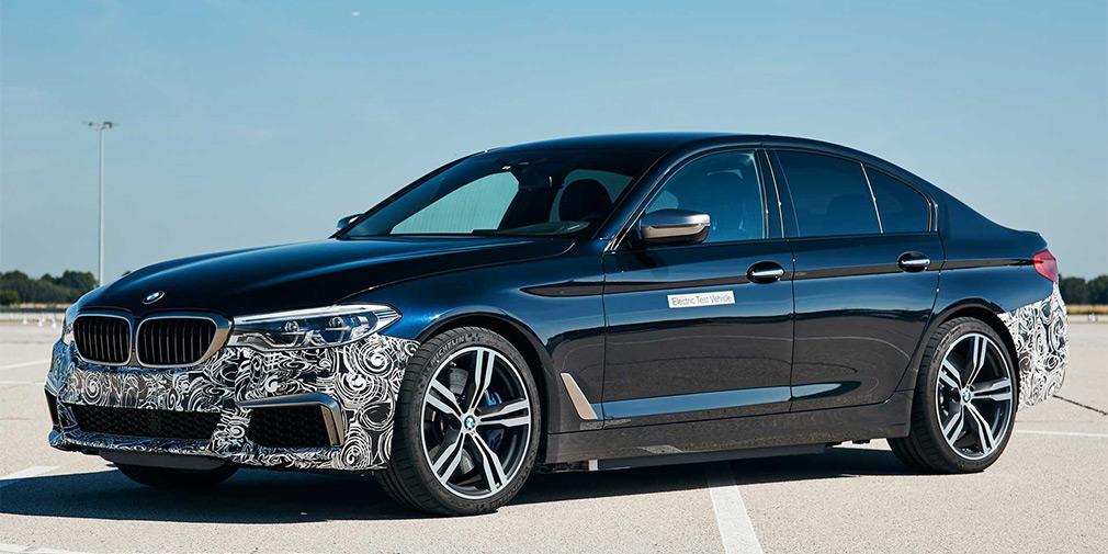 BMW превратила «пятерку» в 720-сильный электрокар 1
