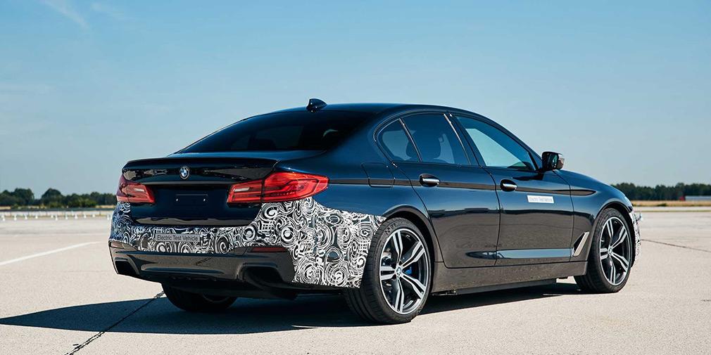 BMW превратила «пятерку» в 720-сильный электрокар 2