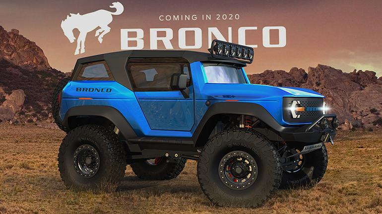 Рассекречен двигатель нового Ford Bronco 2