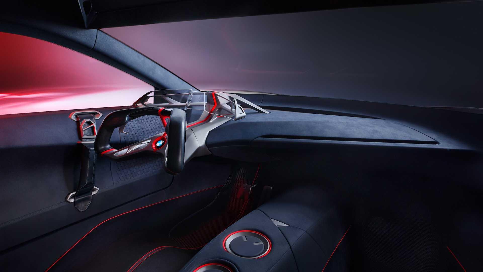 BMW показал гибридное будущее M-моделей на футуристичном концепте 3