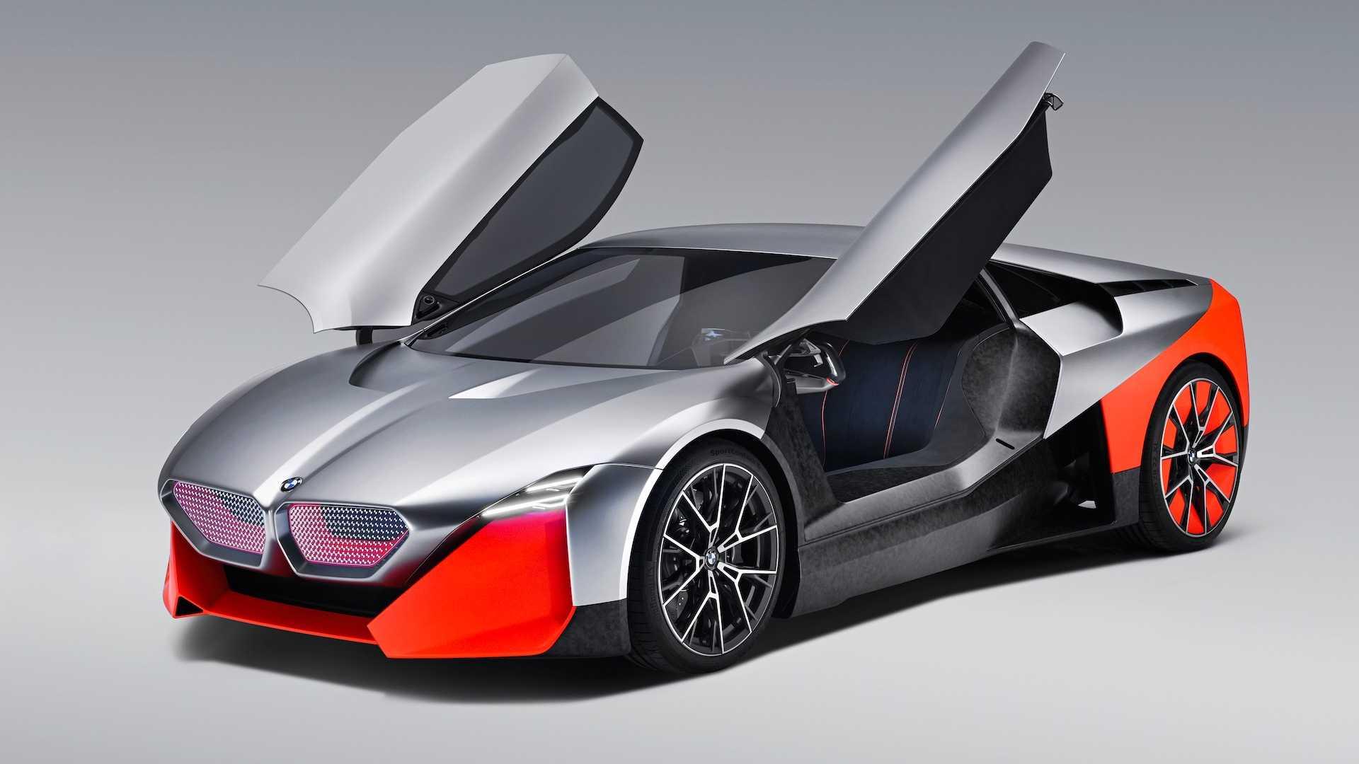 BMW показал гибридное будущее M-моделей на футуристичном концепте 1