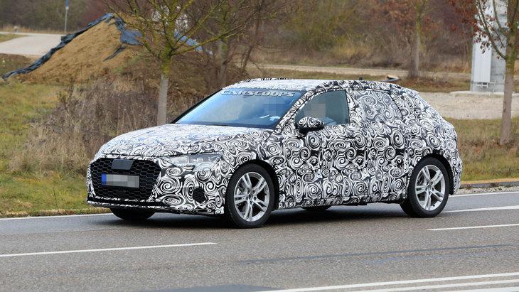 Audi подумывает над завышенной версией A3 1