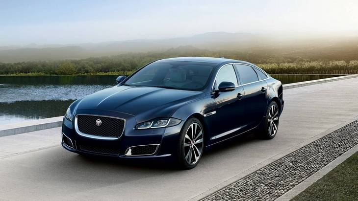 Jaguar сохранит двигатели внутреннего сгорания на седане XJ 1