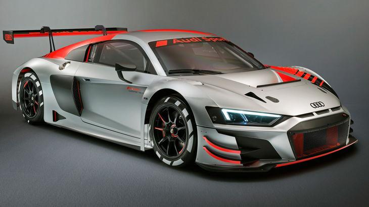 Audi выпустит дорожную версию хардкорного R8 GT3 1