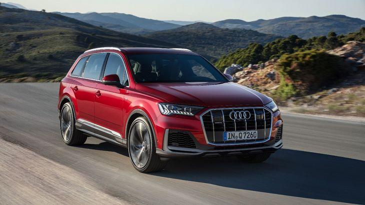 Audi обновила флагманский внедорожник Q7 1