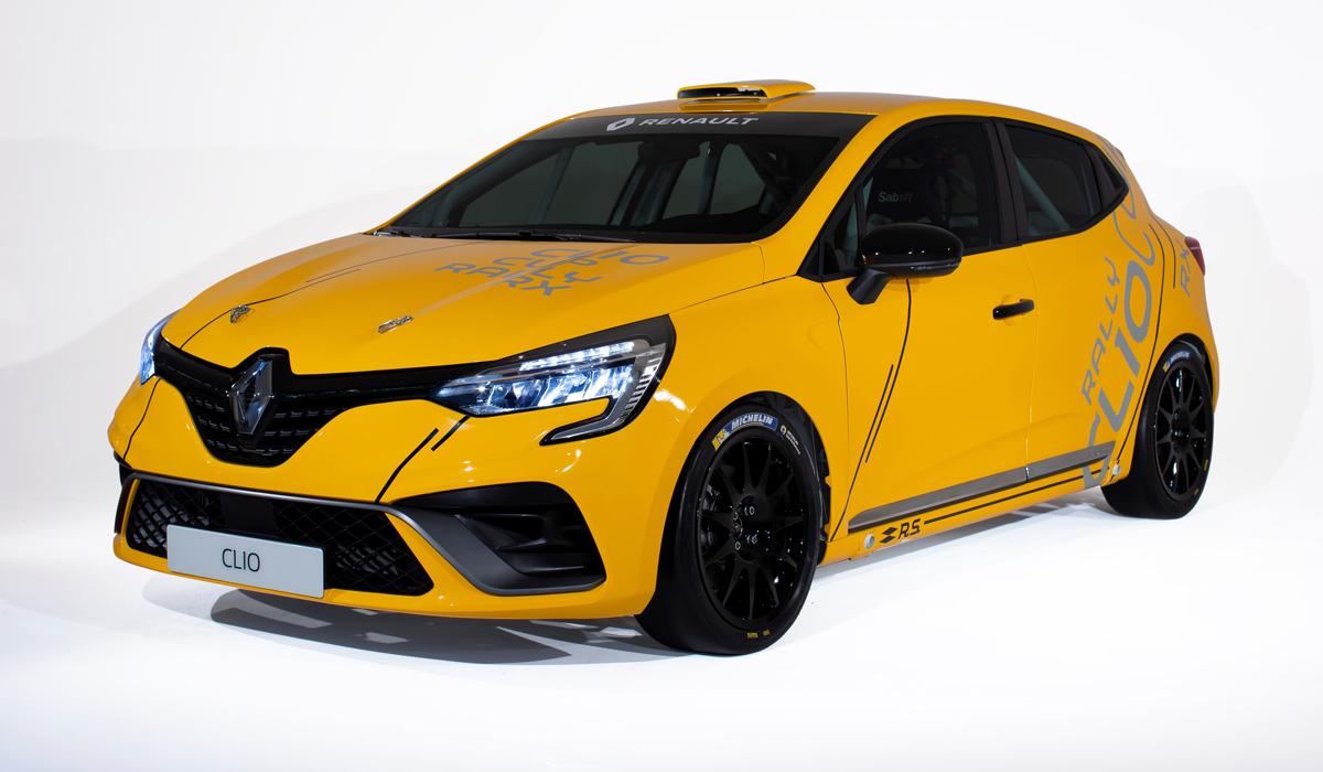 Гоночный Renault Clio предстал в трех версиях 1