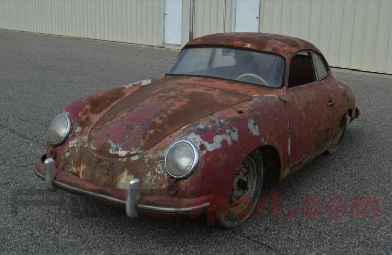 Полувековой ржавый Porsche продают по цене нового спорткара 1