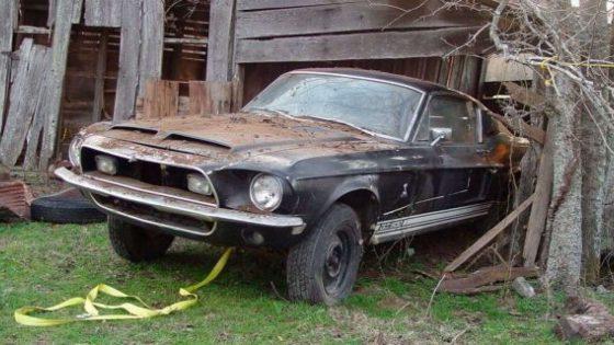 В заброшенном сарае нашли уникальное купе Shelby за сто тысяч долларов 1