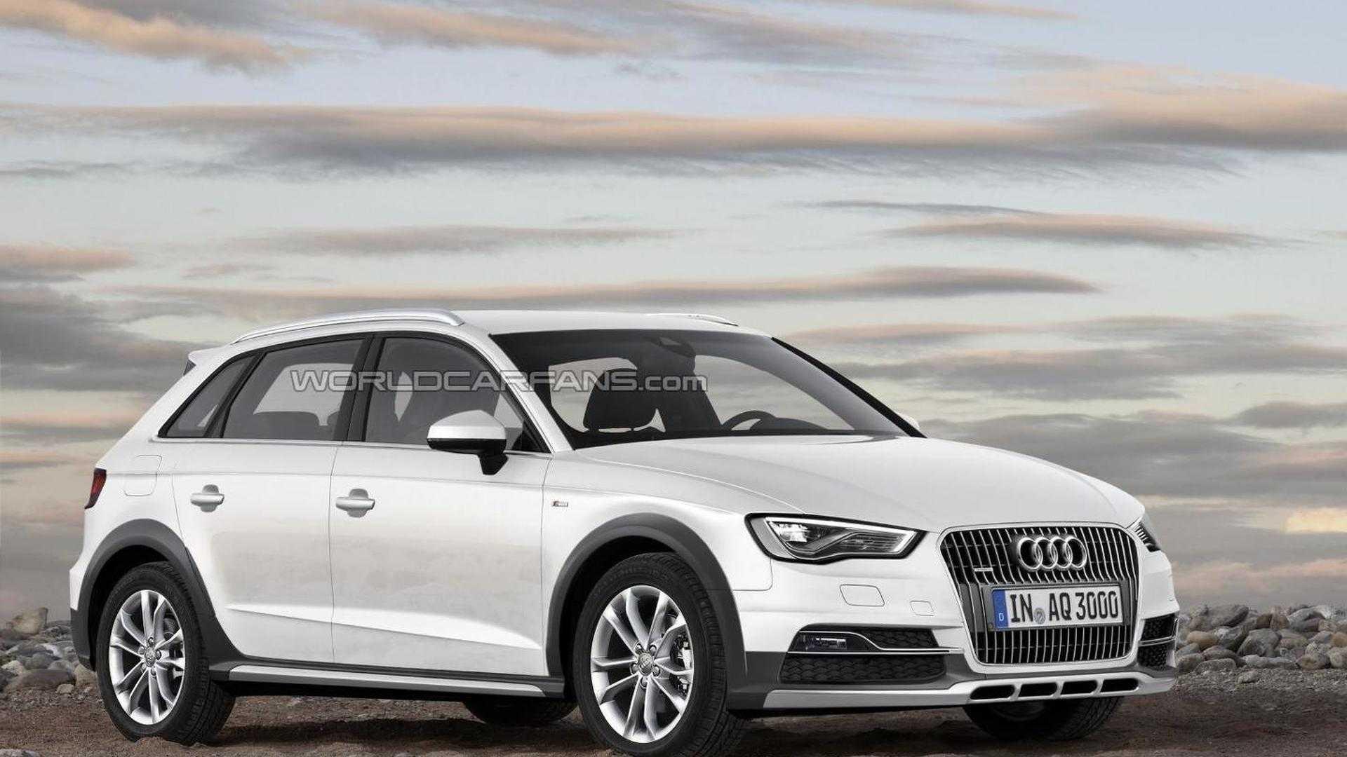 Audi выпустит приподнятую версию хэтчбека A3? 1