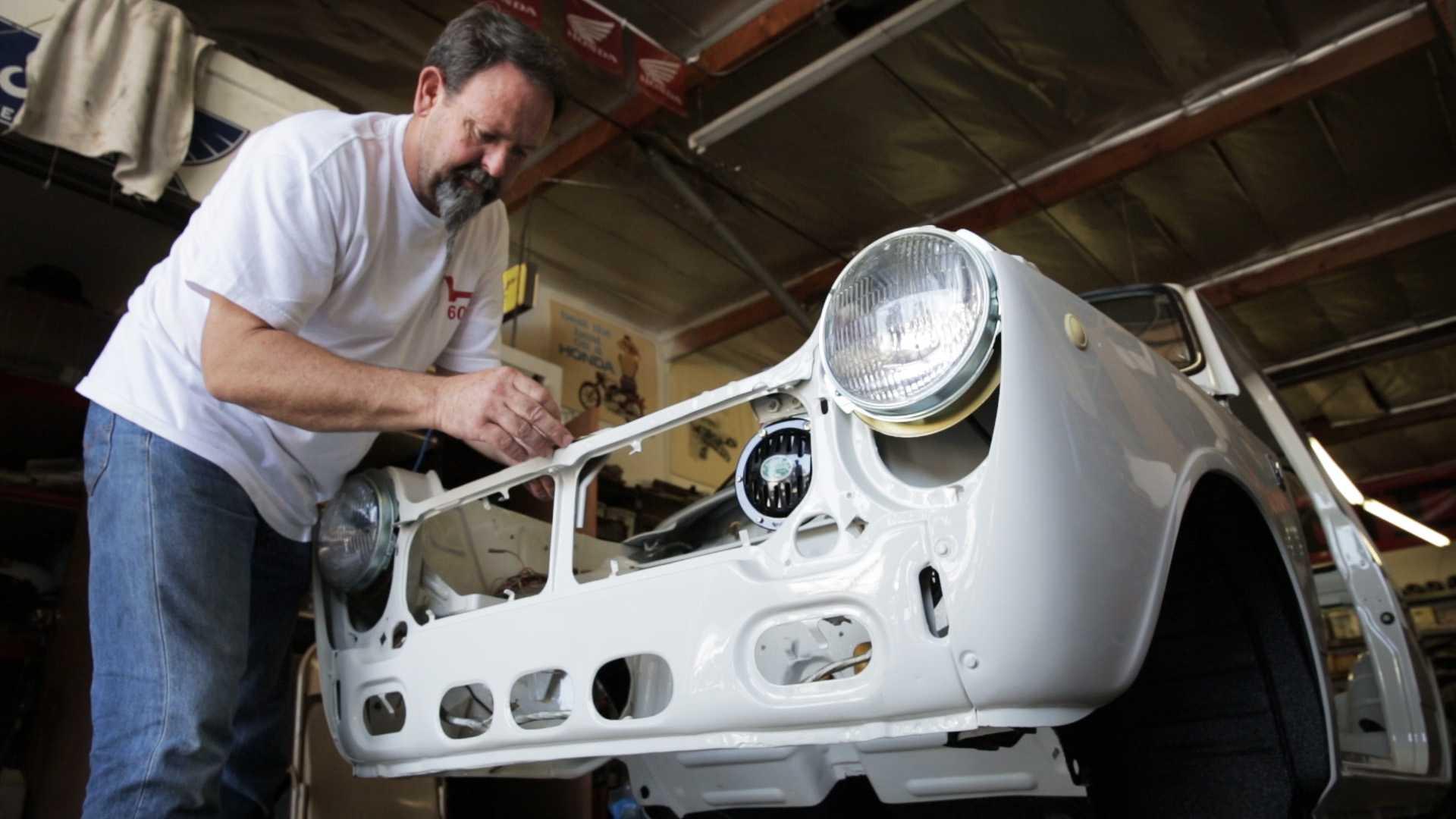 Honda отыскала и восстановила самый первый свой автомобиль в США 1