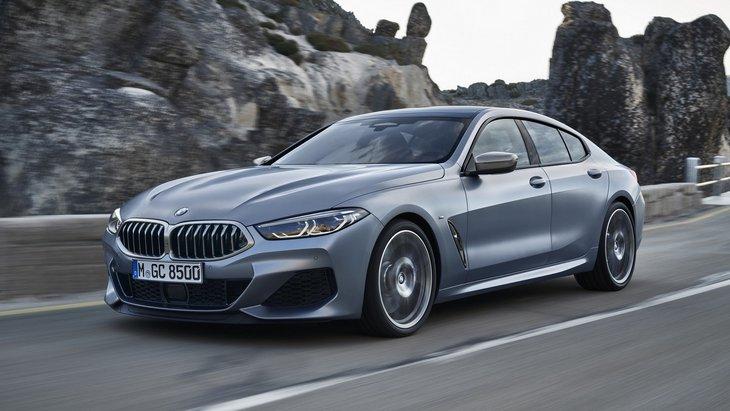BMW официально представила 8 Series Gran Coupe 1