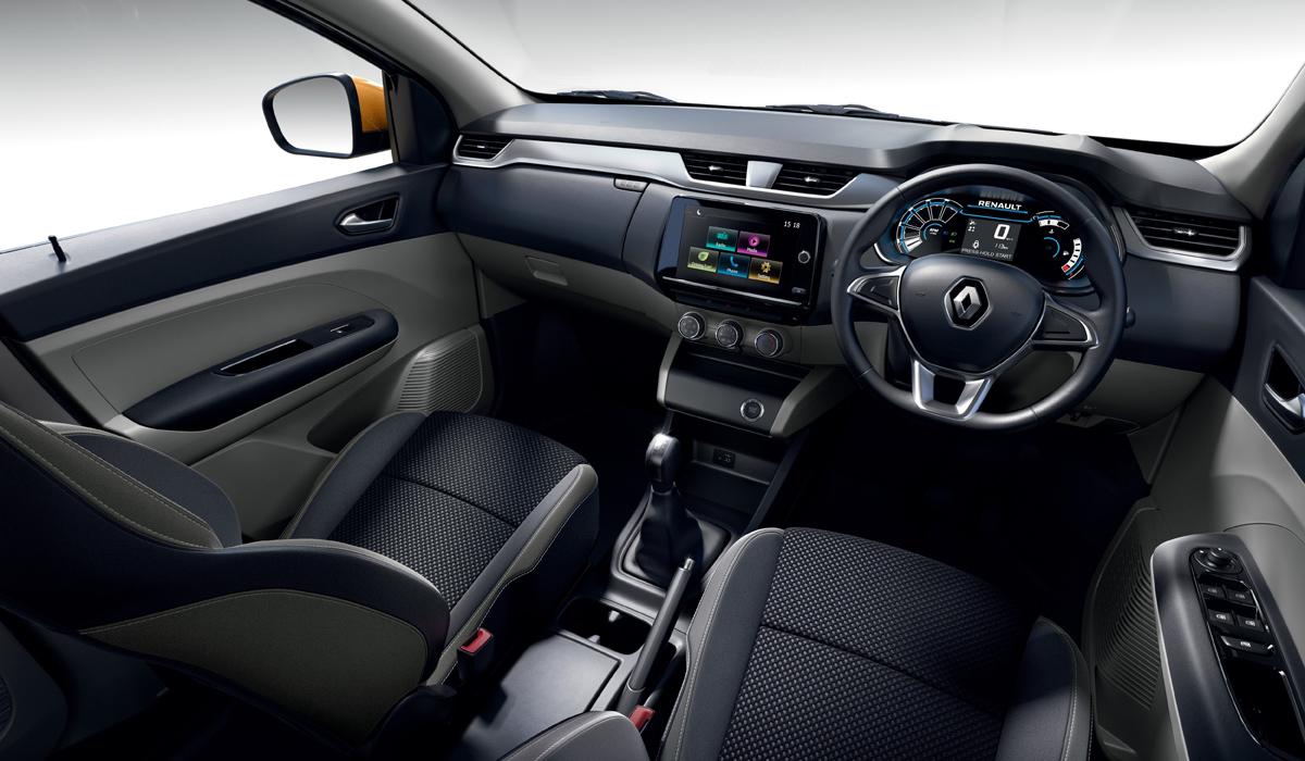Представлен семиместный микровэн Renault Triber 3