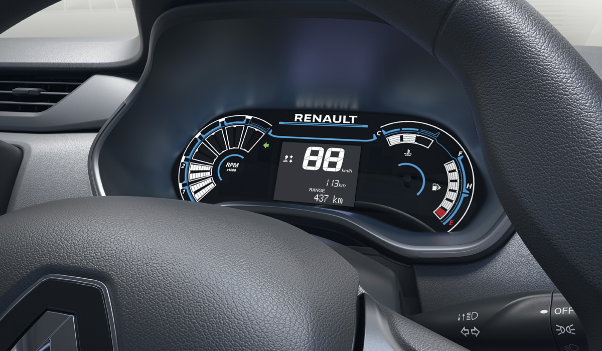 Представлен семиместный микровэн Renault Triber 4