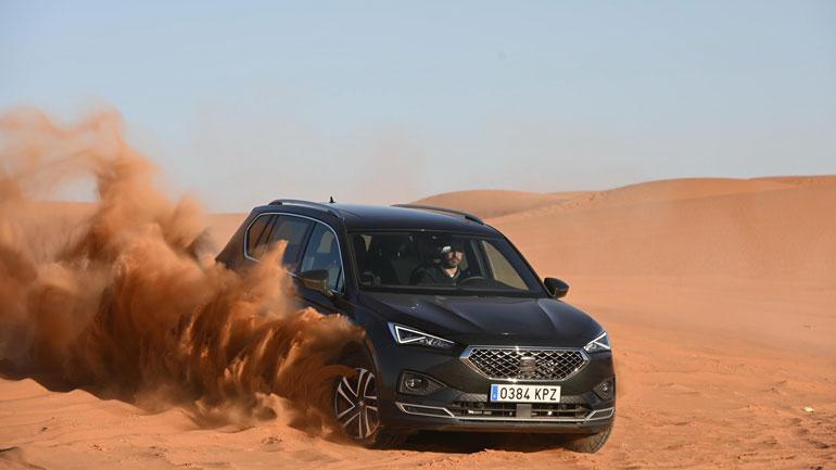Seat научит преодолевать песчаные дюны на своем Seat Terraco 1