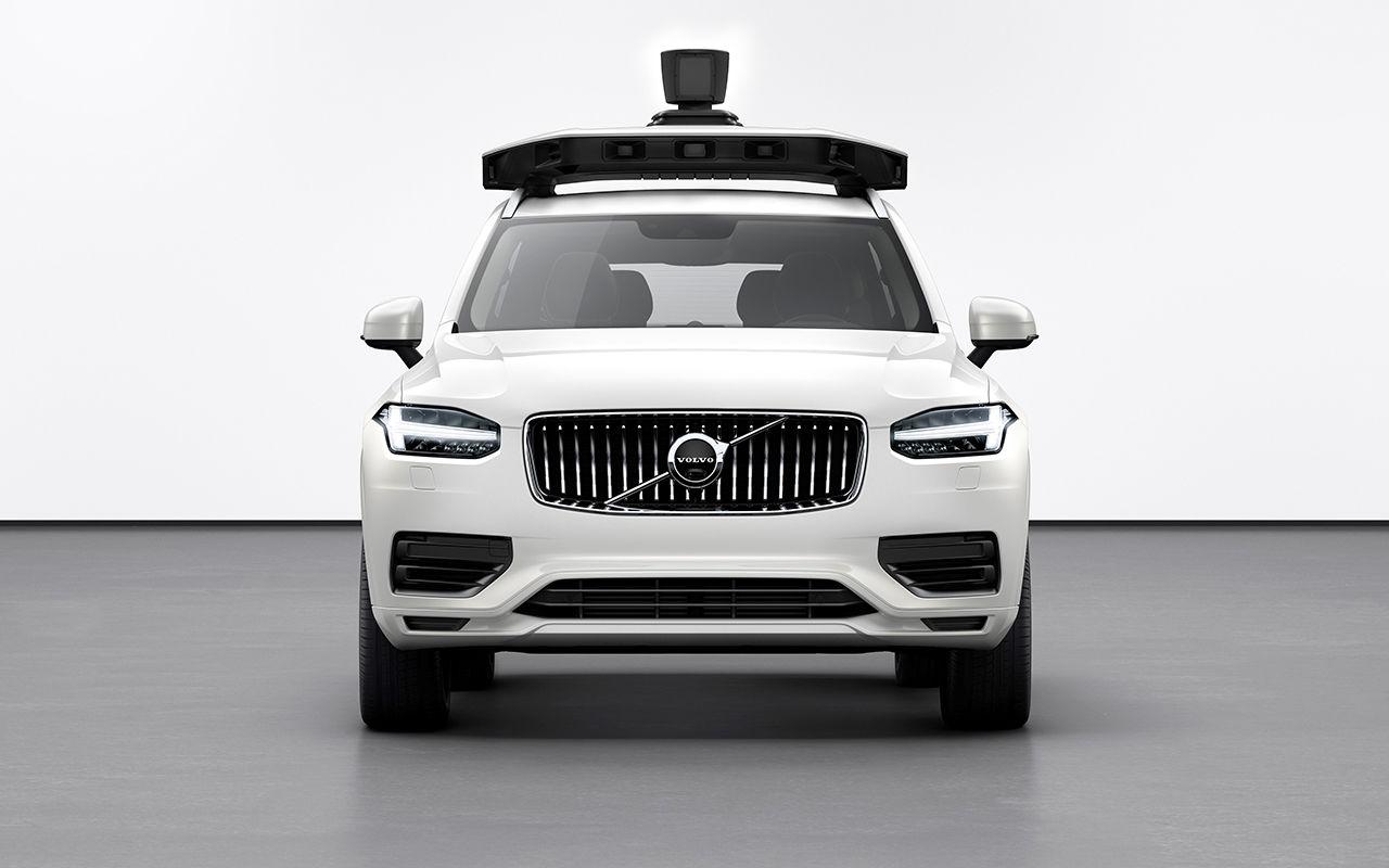 Volvo Cars и Uber сделали общий беспилотник 1