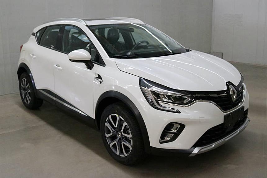 Новый Renault Captur: фотографии и размеры 1