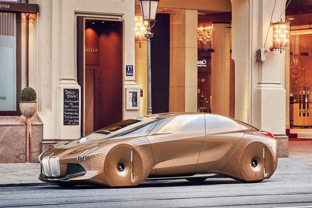 BMW хочет всех удивить своим концептом Vision M Next 1