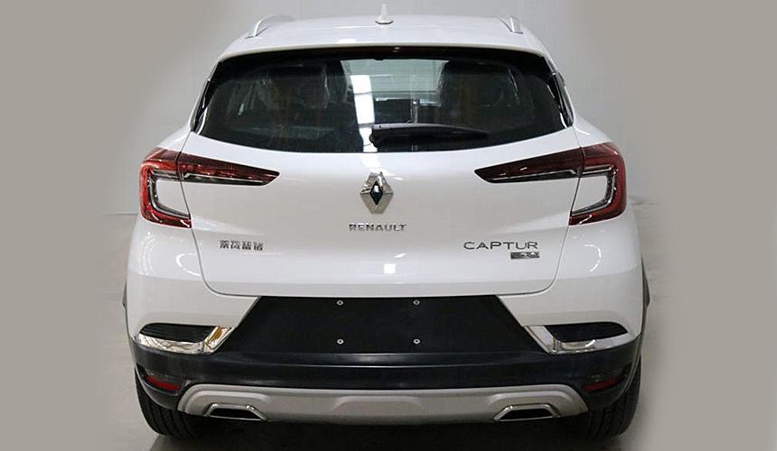 Новый Renault Captur: фотографии и размеры 2