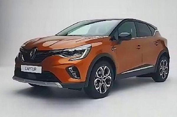 Рассекречен внешний вид Renault Captur 1