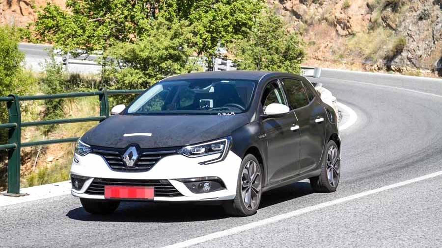 Renault выпустит обновленный гибрид Megane 1