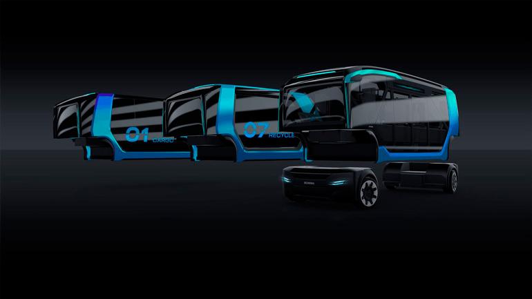 Новый беспилотник Scania NXT сможет перевозить всё - от людей до мусора 1