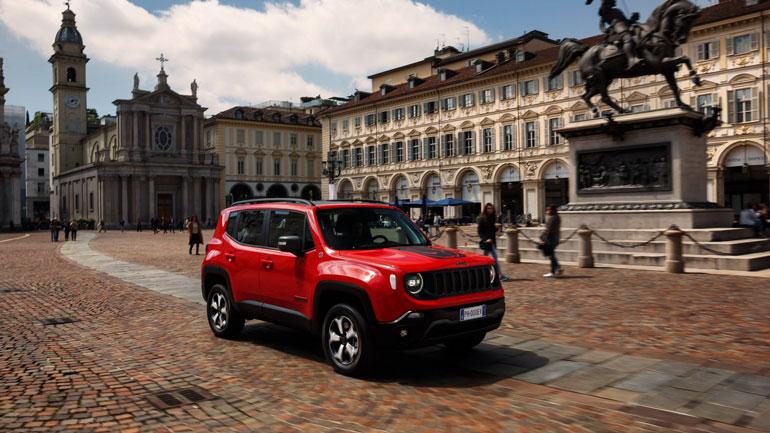 Jeep Renegade PHEV скоро представят публике 1