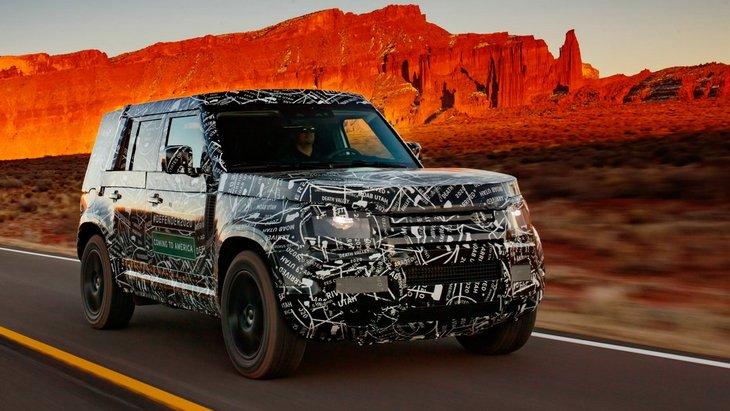 Land Rover выпустит новый Defender в специальной версии для Китая 1