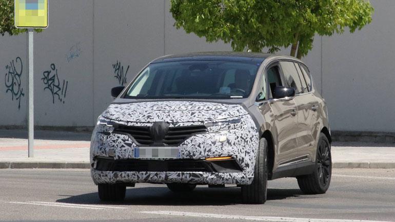 Renault готовит новое поколение минивэна Renault Espace 1