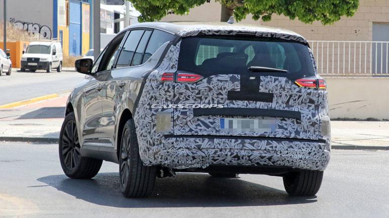 Renault готовит новое поколение минивэна Renault Espace 2
