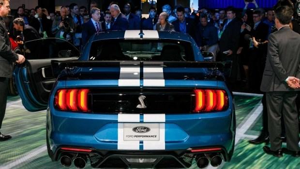 Ford Mustang Shelby GT500 получит более 700 лошадиных сил мощности 1
