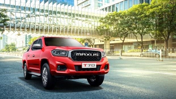 Новый пикап Maxus T70 появился в Китае 1