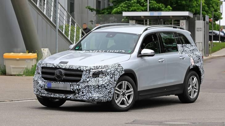 Mercedes раскрыл дату презентации нового внедорожника 1