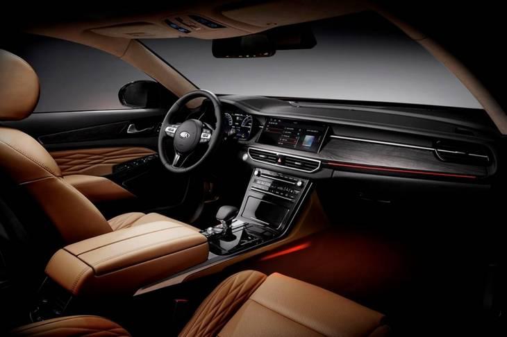 Kia представила обновленный седан K7 3