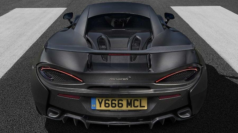 Спорткар McLaren 570S примерил новый аэродинамический набор 2