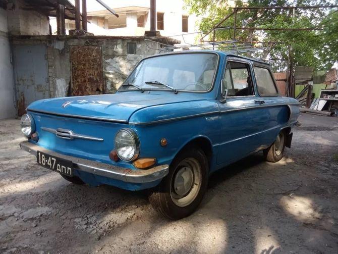 ЗАЗ-968 с пробегом чуть больше 1000 км продают всего за $1000 1