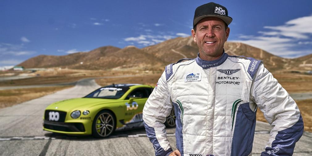 Bentley показал гоночный Continental GT для рекорда на горе Пайкс-Пик 1
