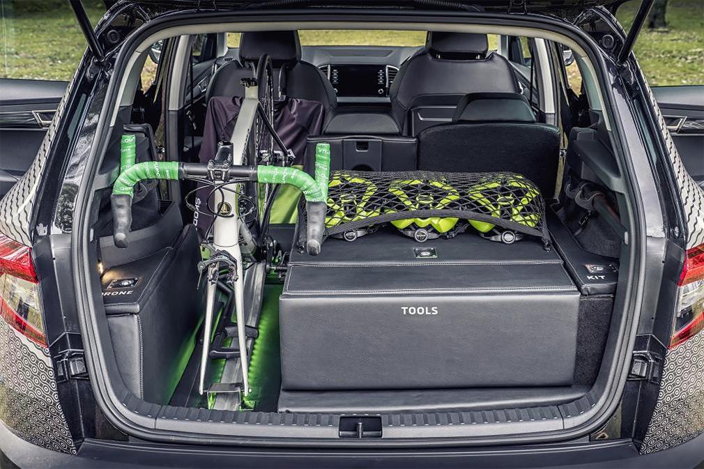 Skoda выпустила кроссовер для велосипедистов 2