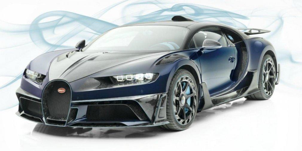 Bugatti Chiron от ателье Mansory выставили на продажу за 4,2 млн евро 1